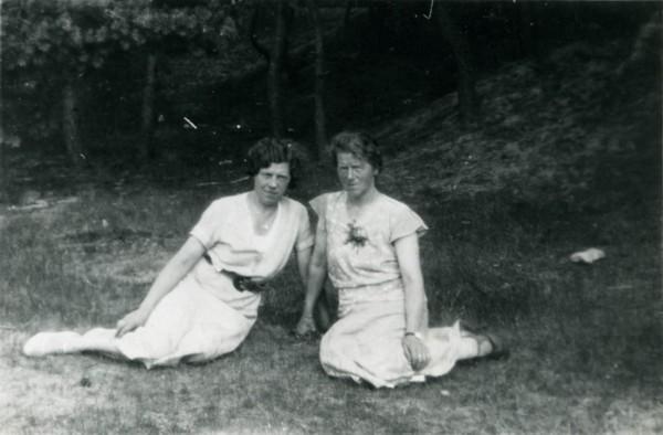 Sophia van Woudenberg en Johanna van Woudenberg