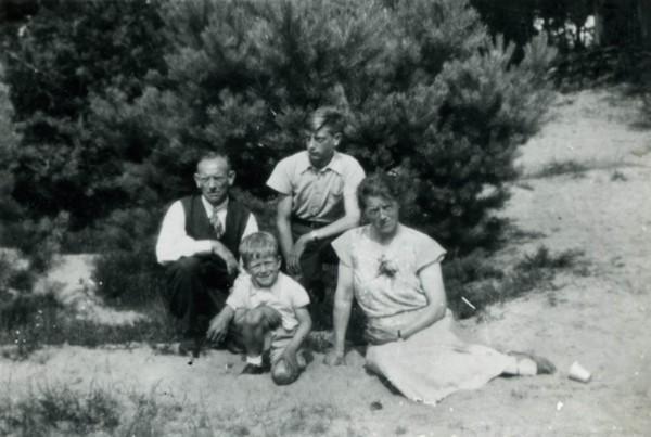 Cornelis van Zijst, Kees Boudestein, Johannes van Zijst en Johanna van Woudenberg