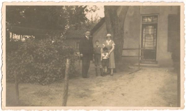 Gezin Gerrit Hooijer en Gerritje Dop