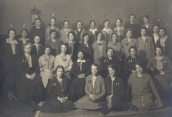 Foto  Vrouwenvereniging van de Calvijnkerk