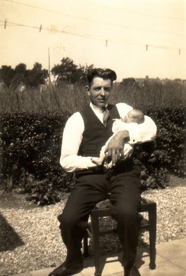 Casper Gerrit van Veenendaal en zoon Gerrit van Veenendaal
