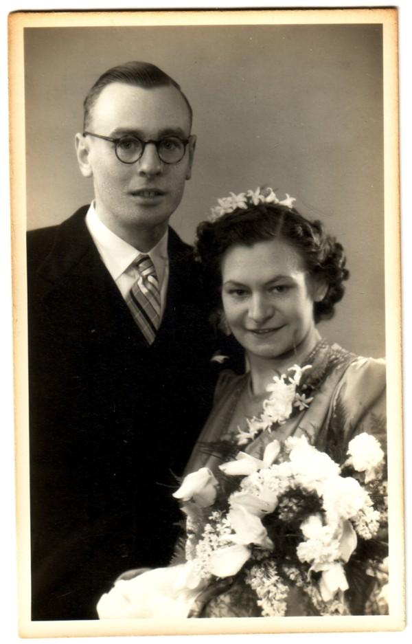 Dirk van den Broek en Stina Bia Grift
