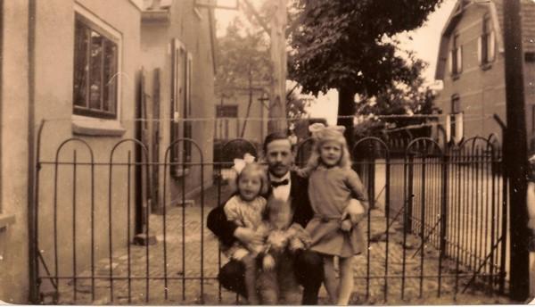 Jan Nijhof met kinderen