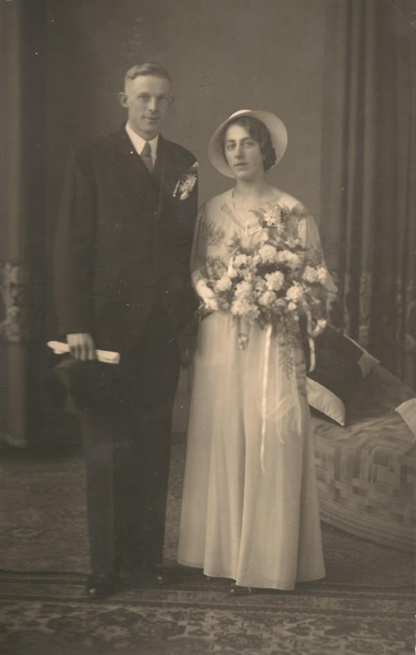 Cornelis Hoogeweg en Wilhelmina Hoenderdaal