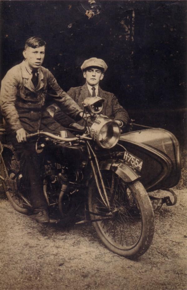 Andries van Keulen en Henk Ravenhorst