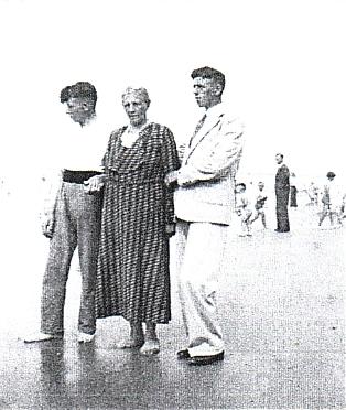 Piet van Ommen, Pietje van Vliet en Dirk van Ommen.
