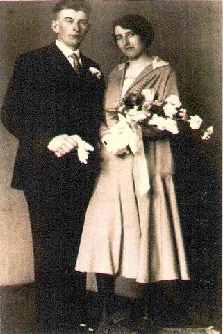 Joachim Spelt en Aaltje Lammertse trouwfoto