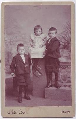 Hendrik, Berendina en Willem Klein Obbink