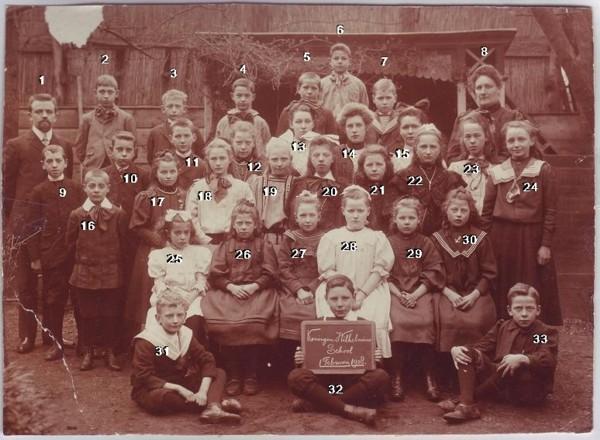 Koningin Wilhelmina School in 1908