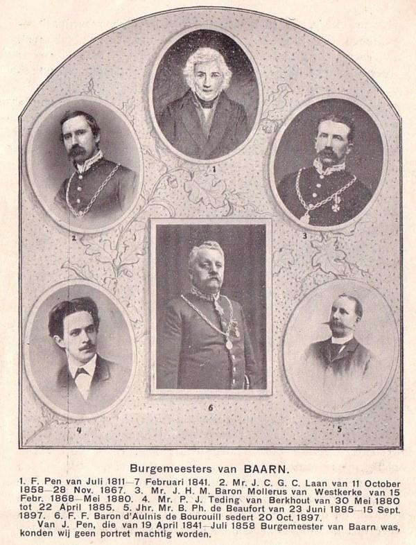 Burgemeesters van Baarn