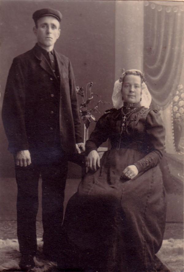 Adrianus Johannes van de Grootevheen en Margaretha van den Hoven