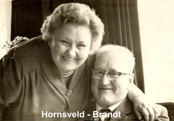 Hendrika Hornsveld en Hendrik Brandt