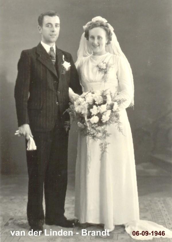 Dirk Karel van der Linden en Metje Catharina Margaretha Brandt