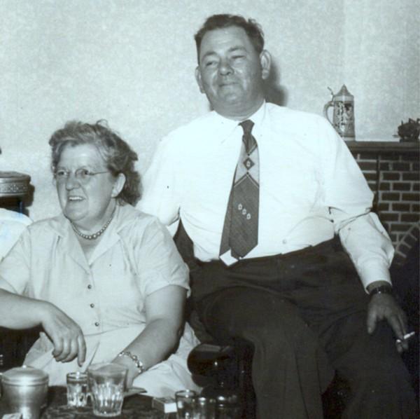 Cornelia Buitenhuis en Hendrik Jacob Hornsveld