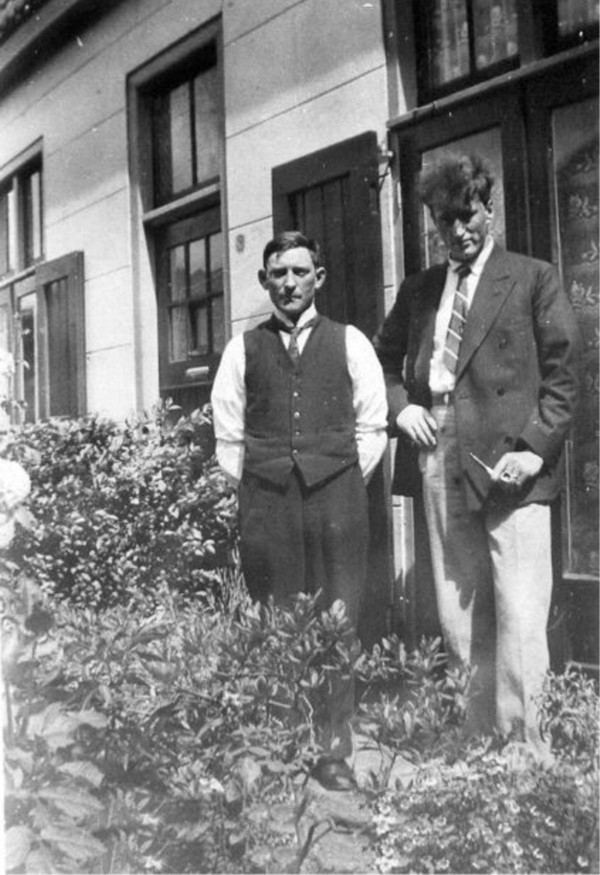Gijsbert Hornsveld en Hendrik Brandt