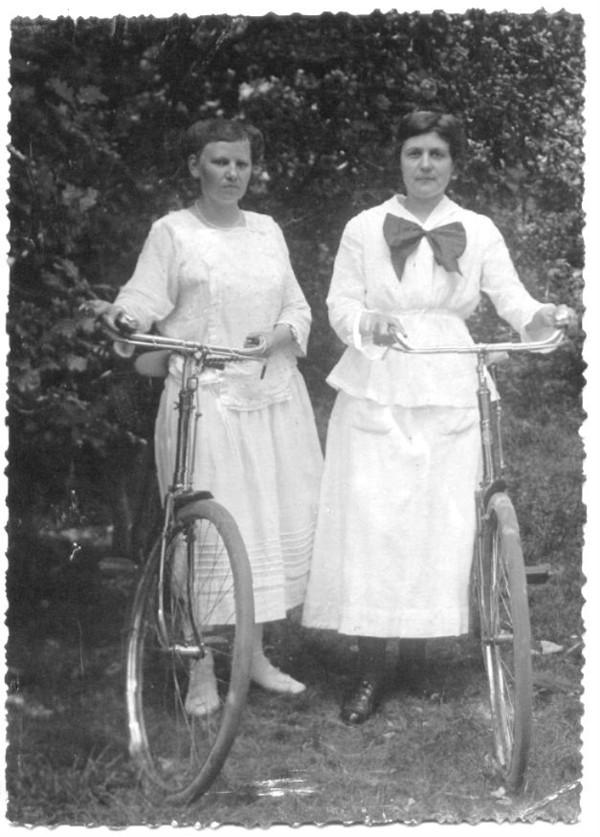 Hendrika Hornsveld en Gijsbertha Elisabeth Hornsveld