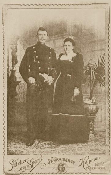 Jan Legemaat en Pieterke van Kregten