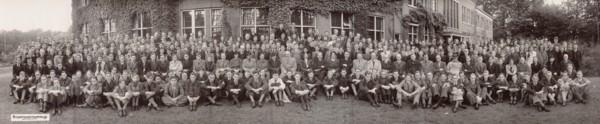 Baarnsch Lyceum ca. 1945