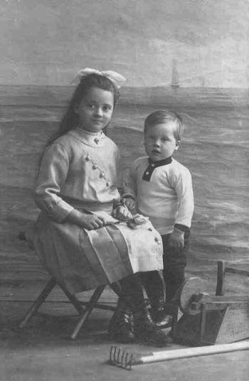 Jeanne Terwee en Thomas Henricus Marie Terwee Jr.