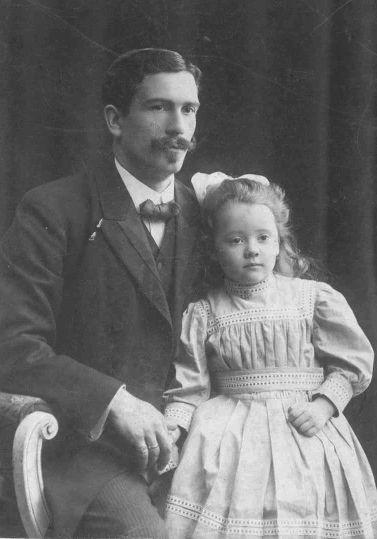 Foto  Thomas Henricus Marie Terwee Sr. en Jeanne Terwee