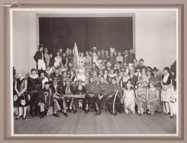 Baarnsch Lyceum Diesfeest 1929 bovenbouw