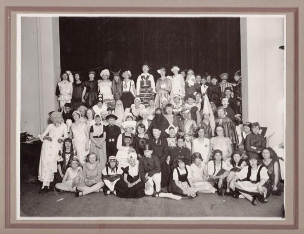 Baarnsch Lyceum Diesfeest 1929 onderbouw