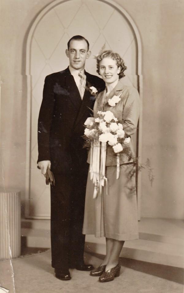 Dirk Breunesse en Geessien Jantje van der Meer trouwfoto