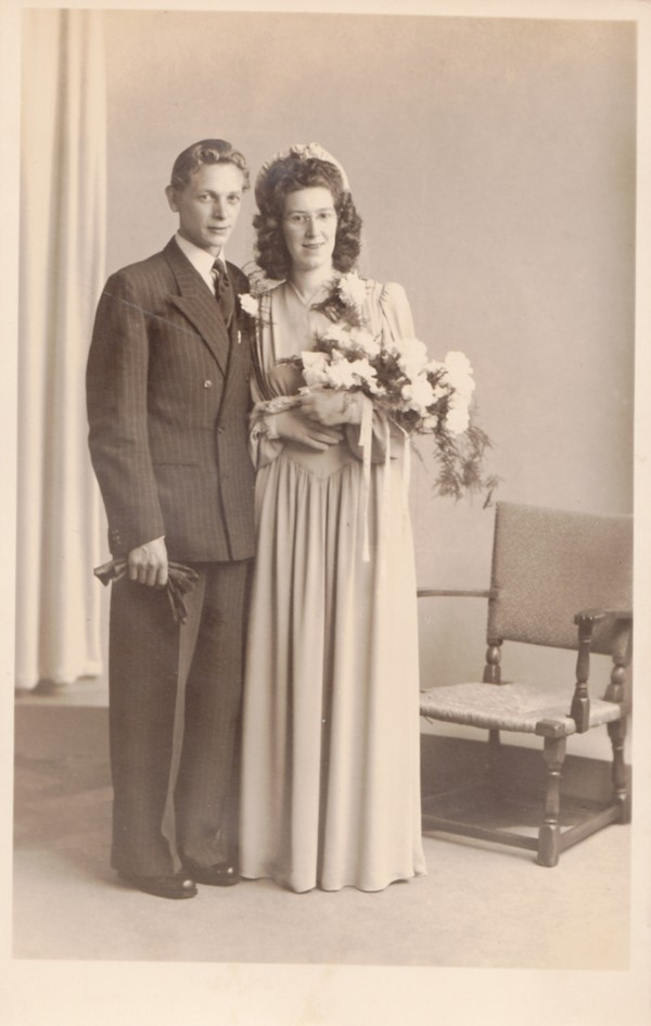 Teunis Ravenhorst en Hendrika van den Bor trouwfoto
