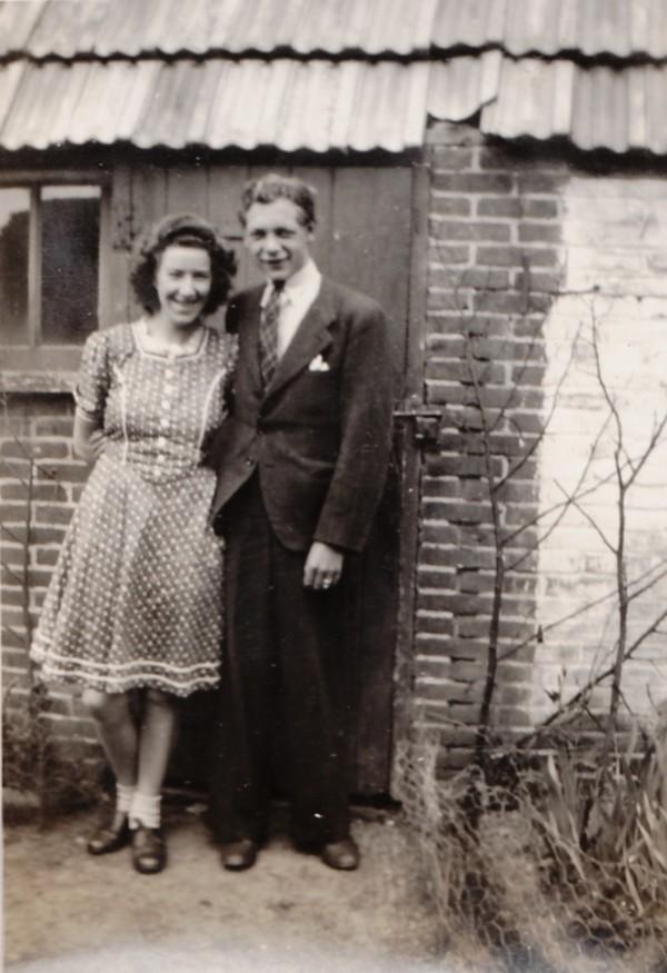 Hendrika van den Bor en Teunis Ravenhorst