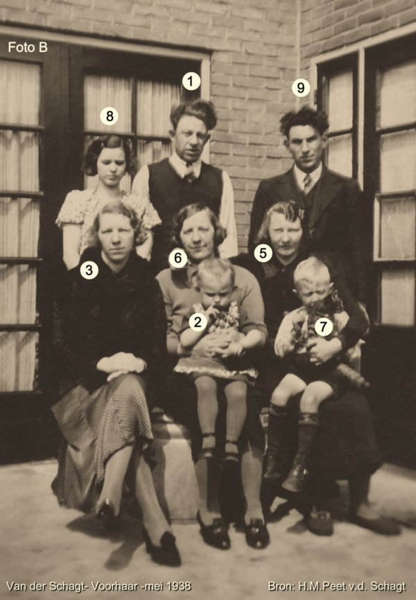 Foto  Kinderen en kleinkinderen van Gijsbert van der Schagt en Heintje Westbroek