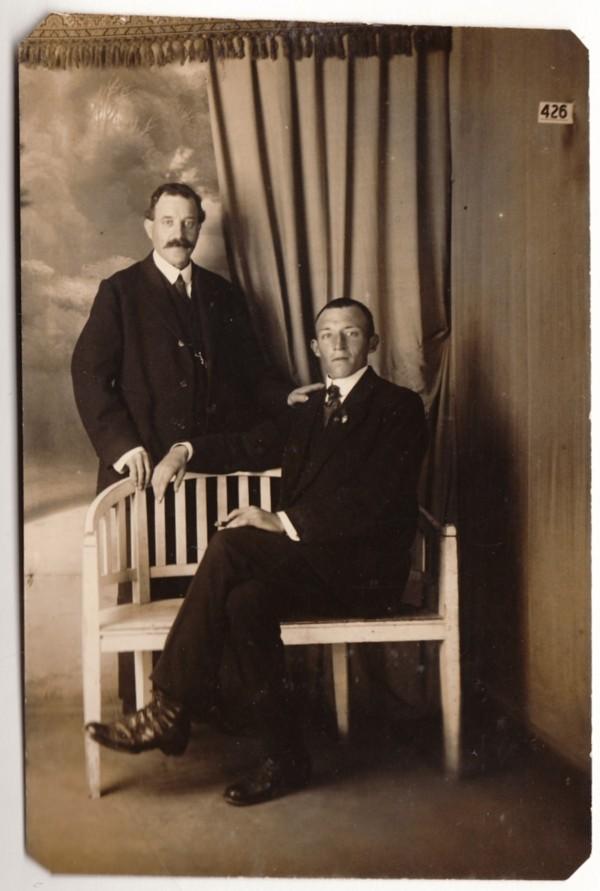 Josephus Bernardus van Hagen en zoon Lambertus van Hagen