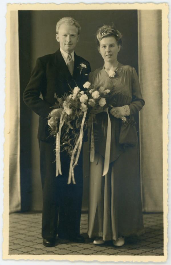 Cornelis Overeem en Jantine Meijer trouwfoto