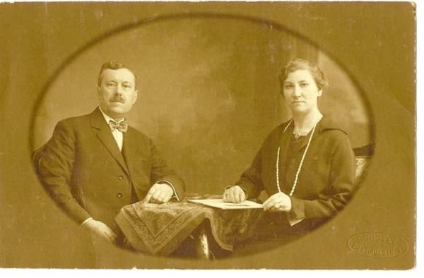 Marinus Johannes Kret en Wilhelmina Antonetta Maria Hendrica du Buf