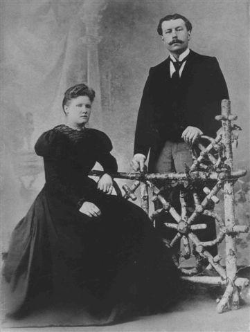 Christina Margaretha Fransen en Marinus Johannes Kret