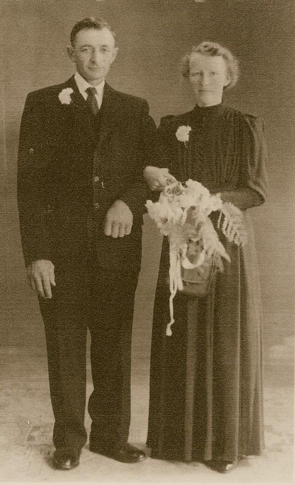Teunis Lagemaat en Willemijnte de Vries