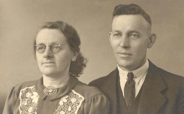 Alida van Remmerden en Evert Groeneveld