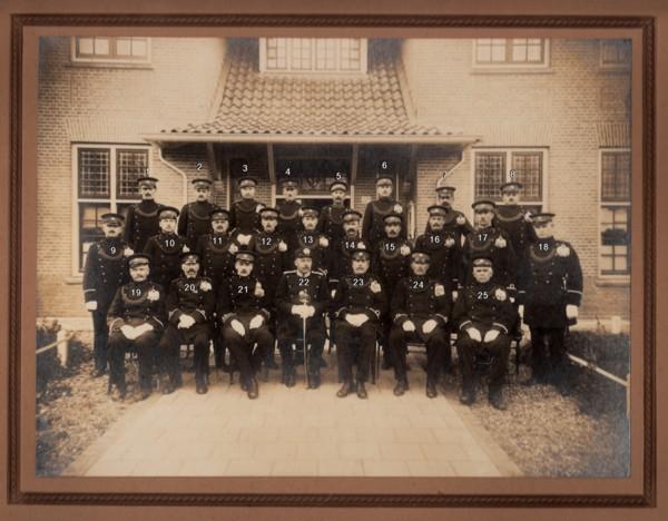 Foto  Korps gemeentepolitie Baarn