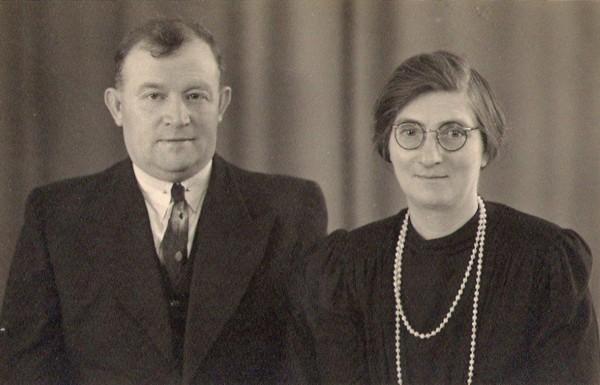 Evert van Dijk en Cornelia van Wijngaarden
