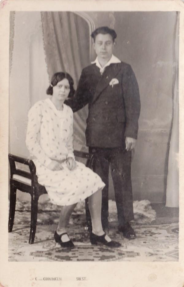 Gijsje van Egdom en tweelingbroer Herman van Egdom