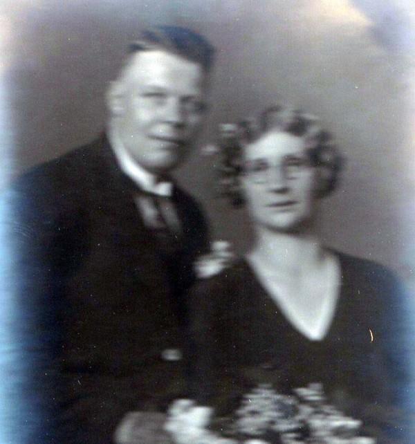 Willem Pater en Catharina van der Woord