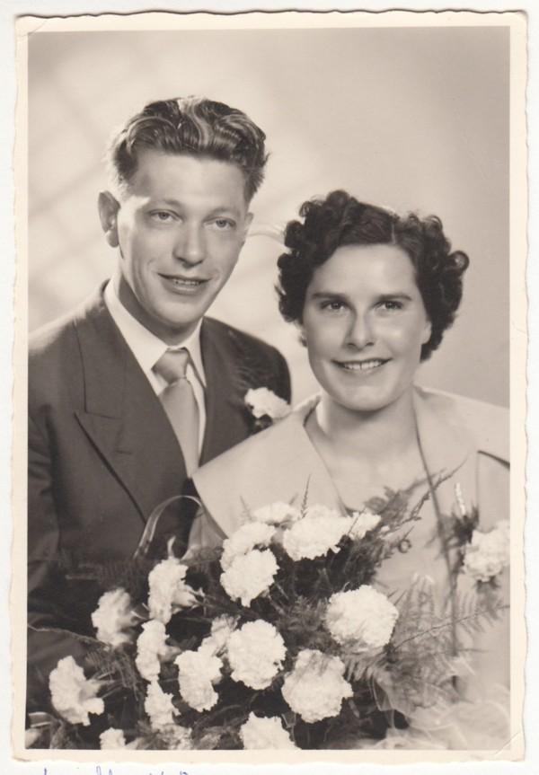 Nicolaas Vogel en Wilhelmina Klaassen