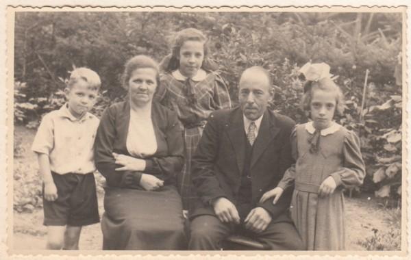 Gezin Goossen Vervat en Hendrika Maria Costerus.