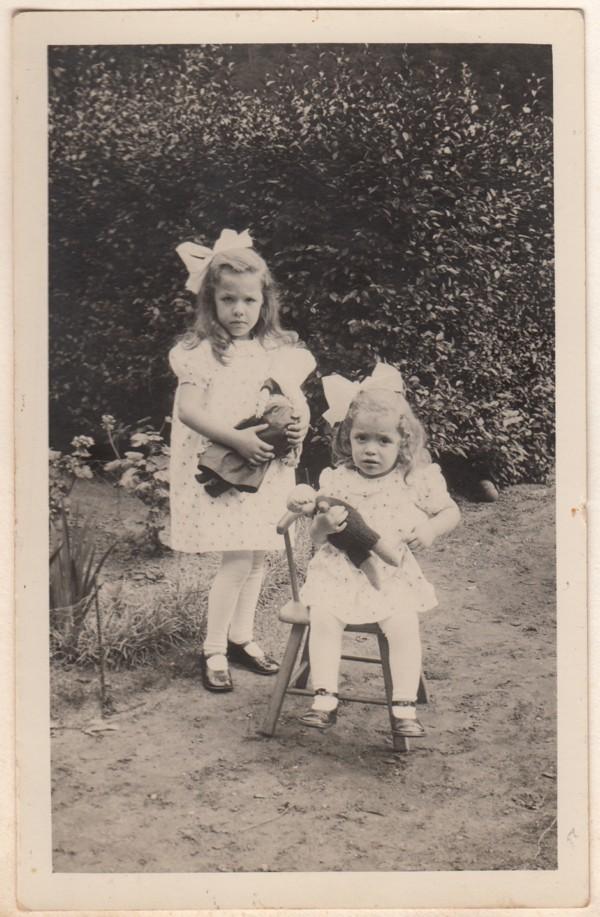 Jannetje Maria Vervat en Belia Vervat