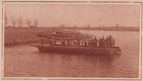 Foto  Pont over de Eem bij de Baarnschen Dijk