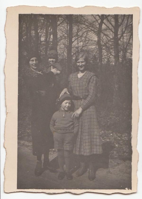 Hermina Maria van de Meent, Luc en Honk van de Meent en Menke de Jong