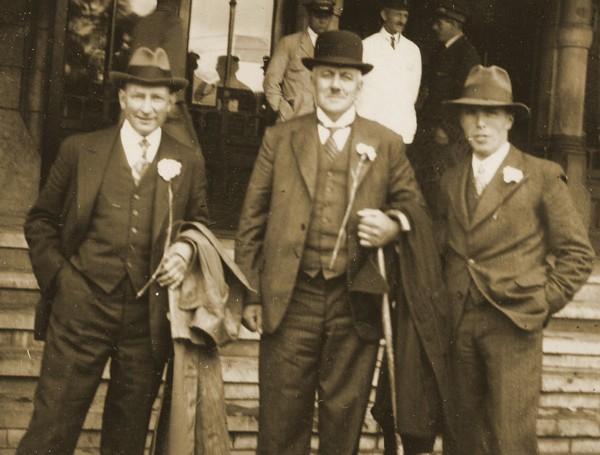 Geurt van Eck, Samuel de Zoete en J. Hoogenberg