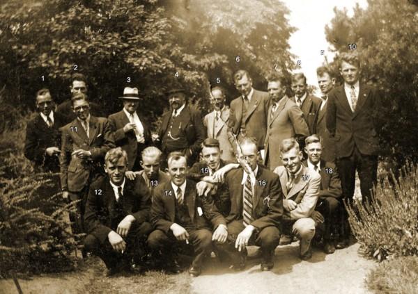 Groepsfoto's met Baarnaars
