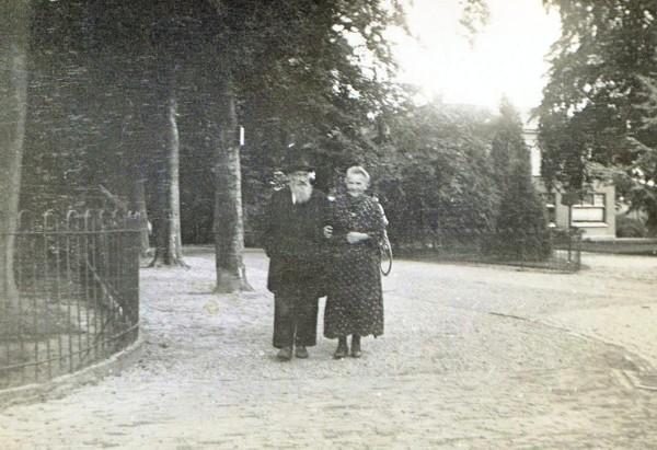 Hendrik Hornsveld en Hendrika van der Woord