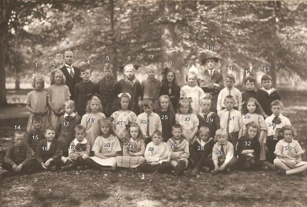 School met de Bijbel ca. 1925