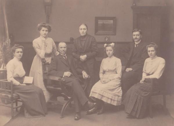 Jacobus Elisa van Dongen Bolding en Maria van Tok 25 jaar getrouwd